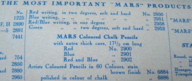 Staedtler 2957 colour copying pencil
