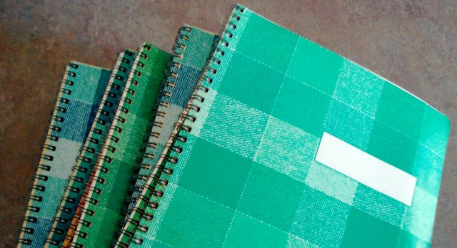 vintage Clairefontaine notebooks