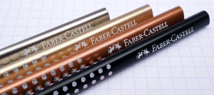Faber-Castell Grip Sparkle pencils