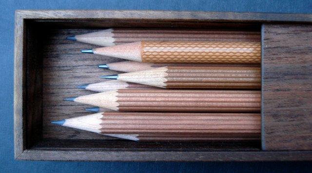 Kozo Interior Studio walnut pencil box