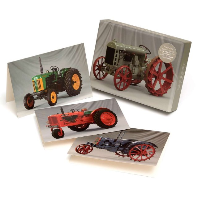 Beautiful Tractors notecards